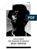 Essays From the Minister of Defense