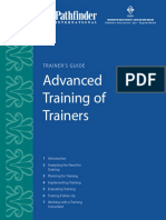 Advanced Training of Trainers:Trainer's Guide