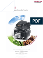 Honda GCV 135 Vertical shaft gasoline (petrol) engine