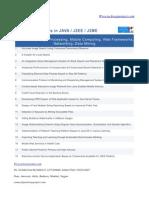 New Java Project List
