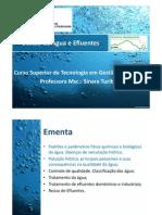 Gestão de Águas e Efluentes - Introdução