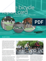 Seattle Bicycle Report Card 2012 Web