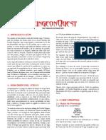 Dungeonquest - Reglamento en Castellano (Incluye Tambien Las Expansiones)