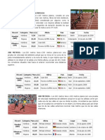 Atletismo y Sus Records Mundiales 01