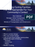 Designing Cycling Facilities