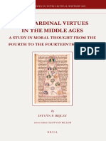 Istvan P. Bejczy the Cardinal Virtues in the Middle Ages a Study in Moral Thought From the Fourth to the Fourteenth Century 2011