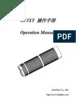 LF3XToperation Manual English