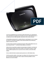 Configuración Router Linksys wrt54g2