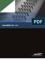 SonicWALL SonicOS CLI Guide