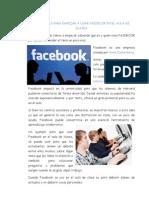 15 Razones Para Empezar a Usar Facebook en El Aula de Clases