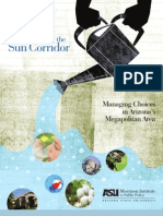 2011 Watering the Sun Corridor Managing Choices in Arizonas Megapolitan Area