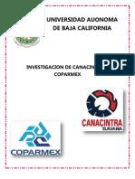 Canacinra y Coparmex