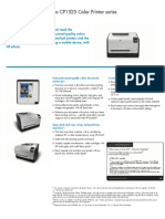 HP LaserJet CP1525 Manual
