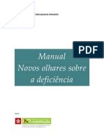 Manual Novos Olhares Sobre a Deficiencia