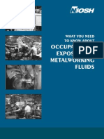 NIOSH Occupational Exposure to Metalworking Fluids