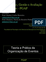Teoria e Prática da Organização de Eventos final