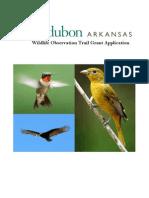 (Final Revised)FINAL Audubon AR Trail Proposal
