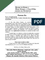Novena em Honra a São João Maria Vianney