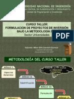 Curso Taller-Universidades [Abril 2012]
