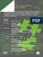 Seminario Economía, Conocimiento, Desarrollo y Estado