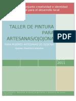 Taller de Pintura Artesanas de Ojojona
