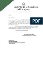 Proyecto Desbloqueo Total de Federico Franco