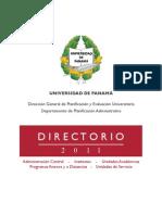 directorio universidad de panamá 2011