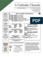 Bulletin - 7-29-2012