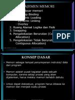 6.Manajemen Memori