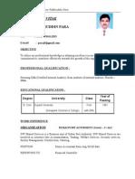Bio DataL Chief Accountant Part