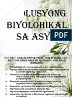 95736871 Ebolusyong Biyolohikal Sa Asya