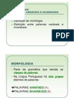 Morfologia.classes de Palavras