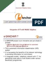 E Sanchar Ver 4 Presentation