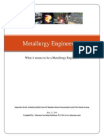 Metallurgy Engineering