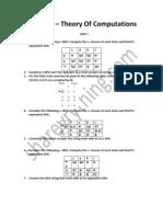 CS2303 – Theory Of Computations