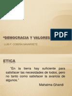 CodigoE EXPOSICION Democracia Valores Eticos