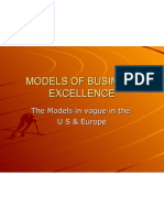 Models of Business Excellence