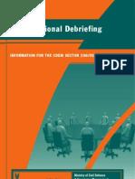 DeBriefing Info Book