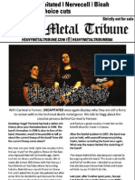 Heavy Metal Tribune Issue 1 (August 2012)