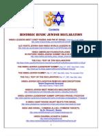 Hindu-Jewish Summit Information