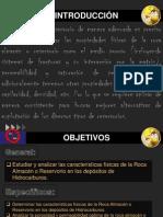 CARACTERISTICAS DE LA ROCA ALMACEN