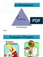 Six Sigma Project management