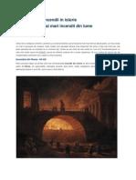 Incendii in Istorie