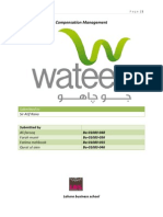 Compensation management Project on Wateen