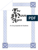 The Middle Ages an Encyclopedia for Students, Volume 4