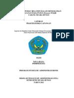 Peranan Public Relation Dalam Menigkatkan Pelayanan Pada Pt. Pln (Persero) WS2JB Area Muara Bungo
