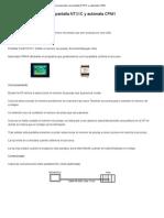 Control de producción con pantalla NT31C y autómata CPM1