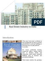 Real Estate Industry in India Vijay - Copy