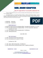 DIA TN Chapter Meeting 18-Aug-2012 Chennai