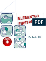 Elementary First Aid Introduction